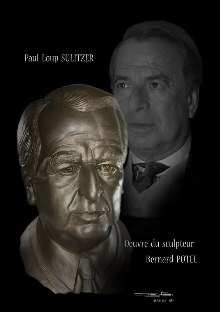 Paul-Loup Sulitzer statufié par Bernard Potel ! dans Actualites / News pls-par-b.-potel